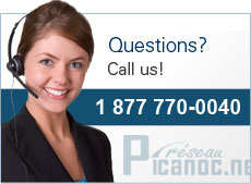 Questions? Call us! 1 877 770-0040